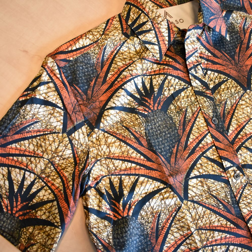 Short Sleeves Exotic Africa