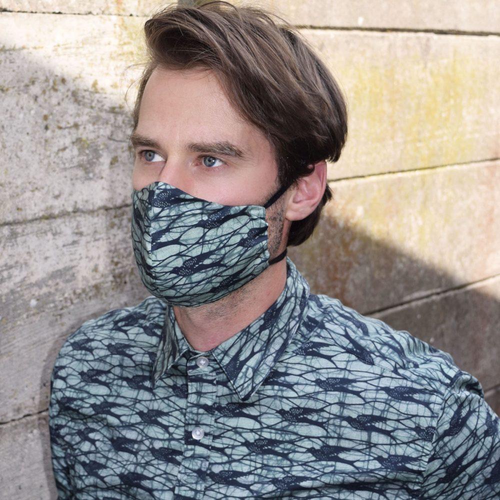 Face mask Speedbird petrol